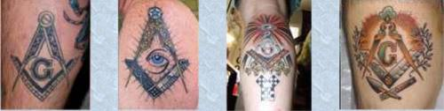 Pics of Masonic tattoos