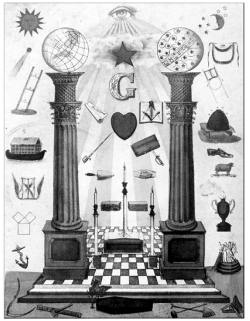 Freemason symbols