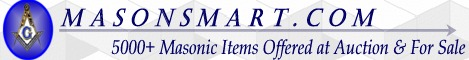 Over 5000 Masonic Items at auction and for sale